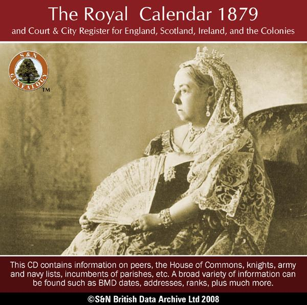 The Royal Calendar 1879