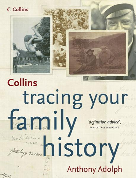 Tracing Your Family History  (Heavy Item)