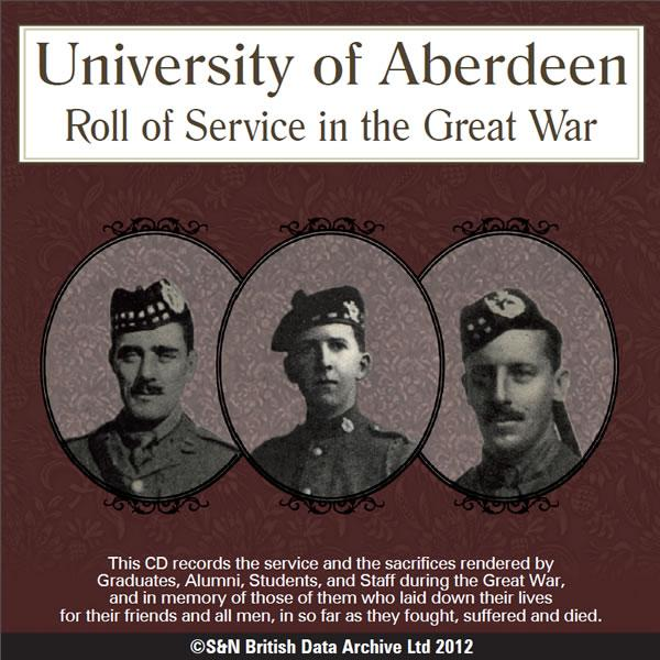 University of Aberdeen - Roll of Service in the Great War 1914-1919