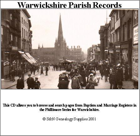 Warwickshire Phillimore Parish Records (Marriages) Volume 3