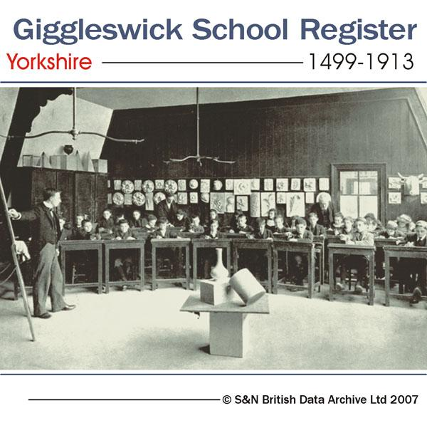 Yorkshire, Giggleswick School Register 1499-1913