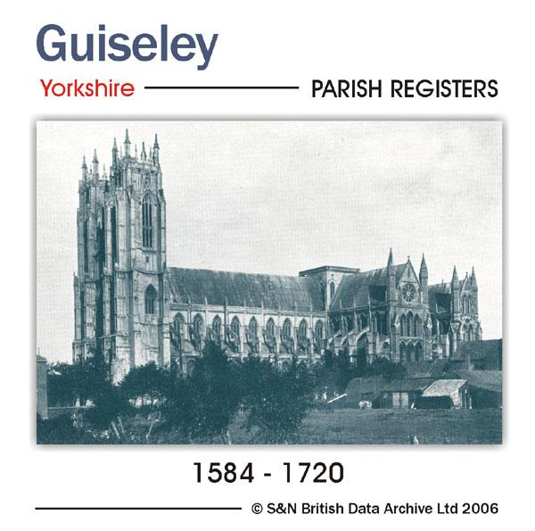Yorkshire, Guiseley Parish Registers 1584-1720