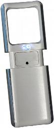 2 LED Pop Up Magnifier - White