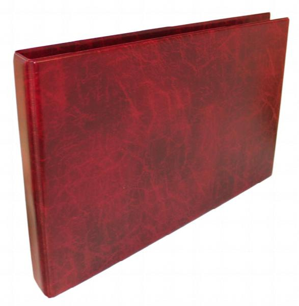 A3 Luxury Burgundy Family History Binder (Untitled)