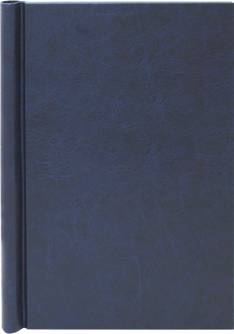 A4 Blue Leather Effect Family History Springback Binder - Untitled