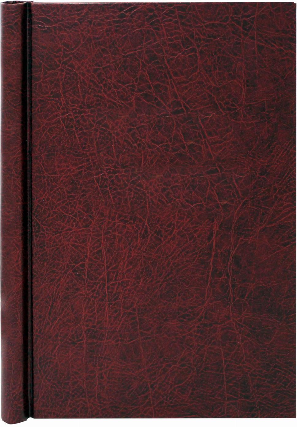 A4 Burgundy Leather Effect Family History Springback Binder - Untitled