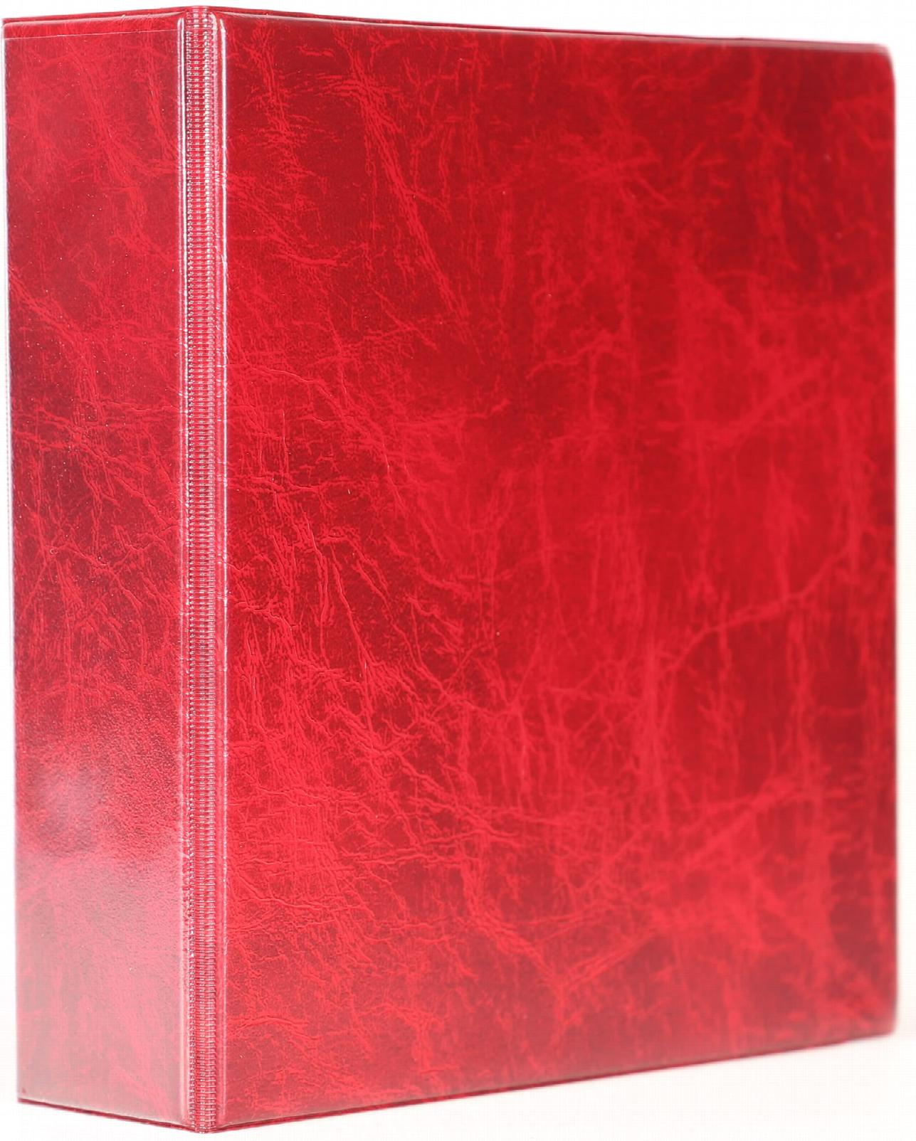 A5 Luxury Burgundy Binder