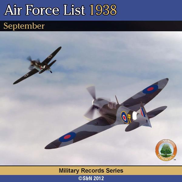 More info about Air Force List 1938 - September