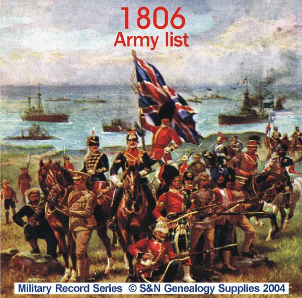 More info about Army List 1806