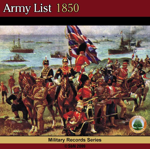 More info about Army List 1850