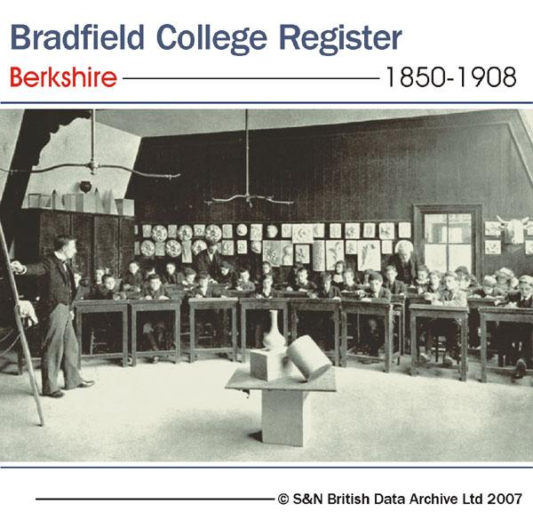 More info about Berkshire, Bradfield College Register 1850-1908