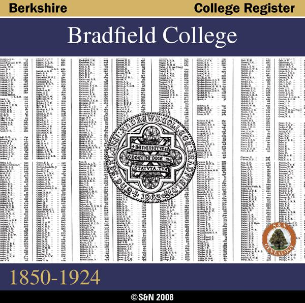 More info about Berkshire, Bradfield College Register 1850-1924