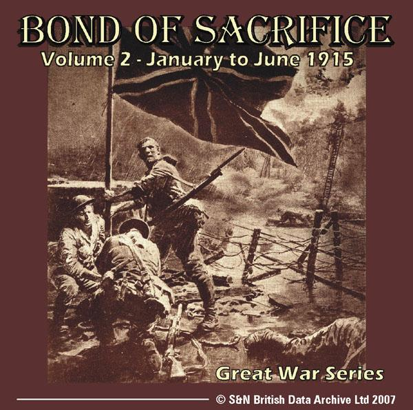 More info about Bond of Sacrifice - Volume 2 - January to June 1915