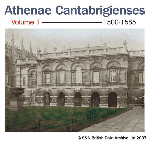More info about Cambridge University - Athenae Cantabrigienses Volume 1 1500-1585