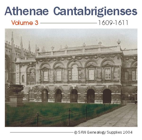 More info about Cambridge University - Athenae Cantabrigienses Volume 3 1609-1611
