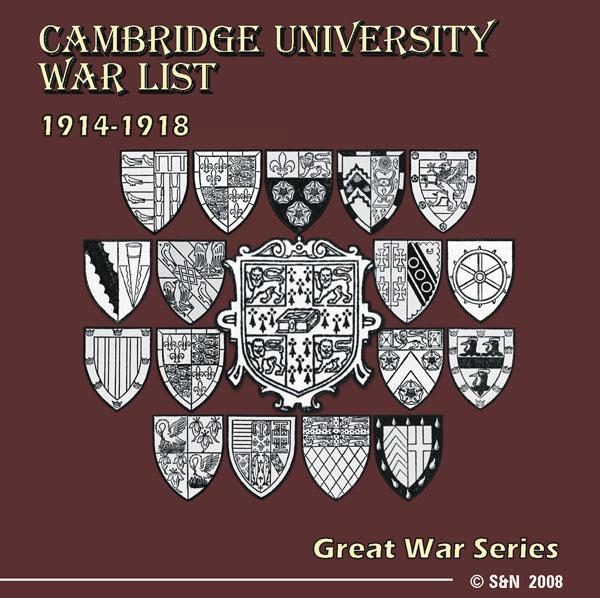 More info about Cambridge University War List 1914-1918