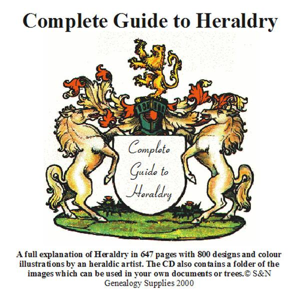 More info about Complete guide to Heraldry on CD (Membership Gift CD)