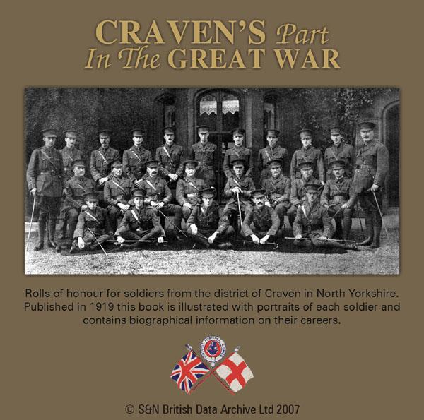 More info about Craven's Part in the Great War