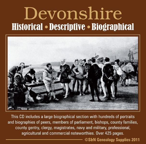 More info about Devon, A Biographical, Historical & Descriptive Account of Devonshire