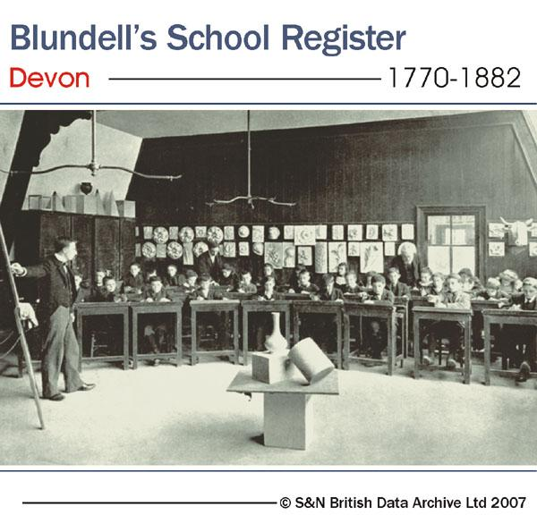 More info about Devon, Tiverton, Blundell's School Register 1770-1882