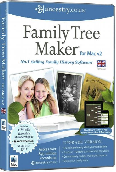 More info about Family Tree Maker for Mac 2 - Upgrade