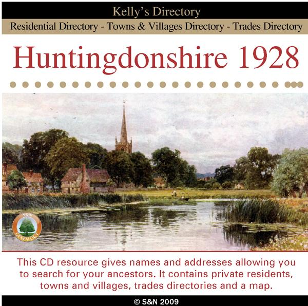 More info about Huntingdonshire 1928 Kelly's Directory