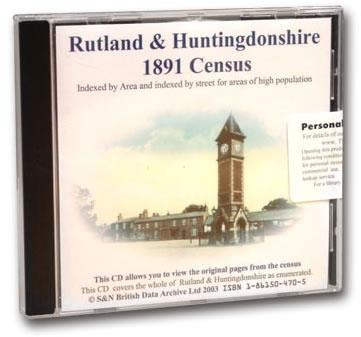 More info about Huntingdonshire & Rutlandshire 1891 Census