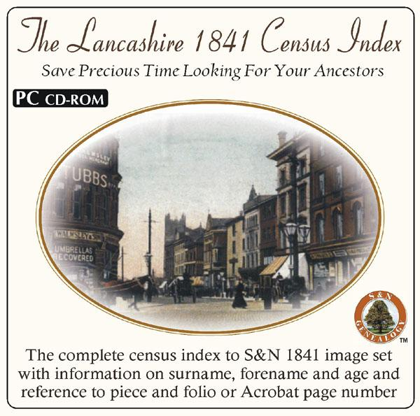 More info about Lancashire 1841 Census Name Index (on its own)
