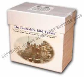 More info about Lancashire 1861 Census (Heavy Item)