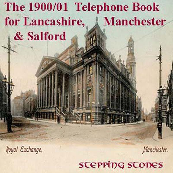 More info about Lancashire 1900/01 Phone Book - Free Postage