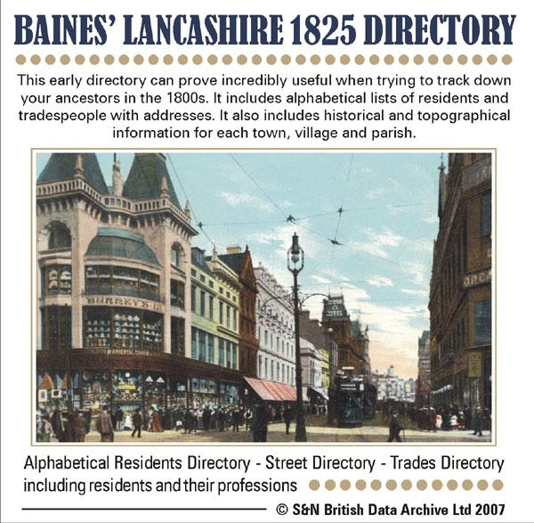 More info about Lancashire, Baines' 1825 Lancashire History, Directory and Gazetteer