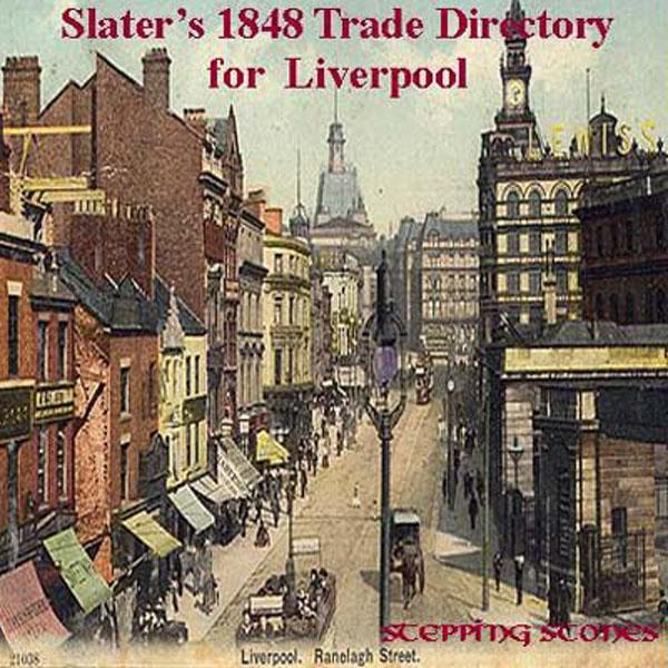 More info about Liverpool 1848 Trade Directory - Free Postage