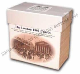 London 1861 Census  (Heavy Item)