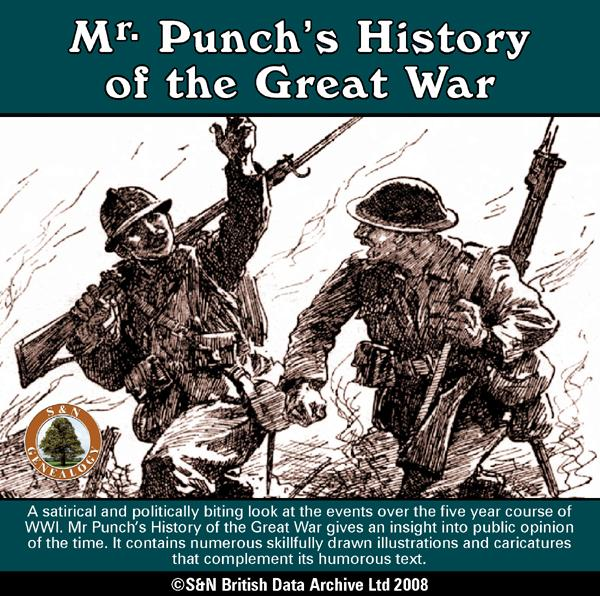 More info about Mr Punch's History of the Great War