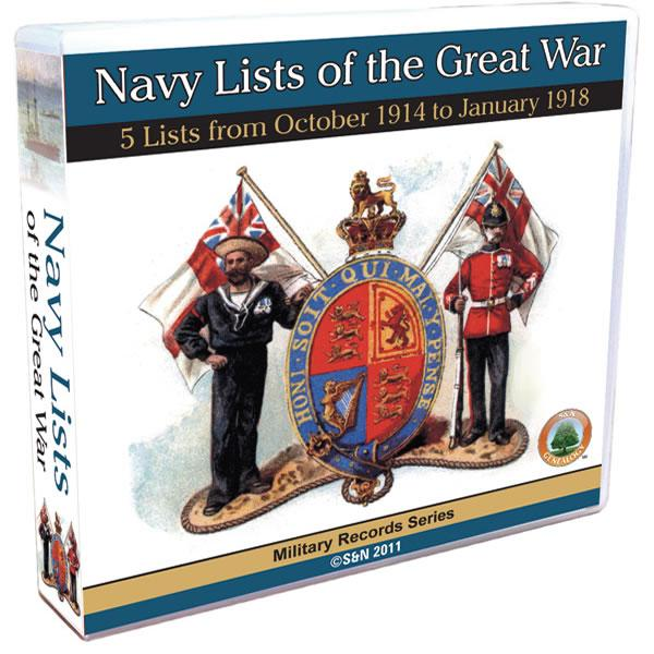 More info about Navy Lists of the Great War  -  1914 October to 1918  January