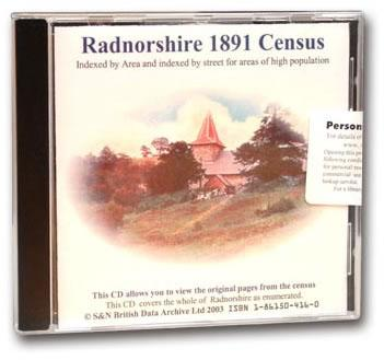 More info about Radnorshire 1891 Census