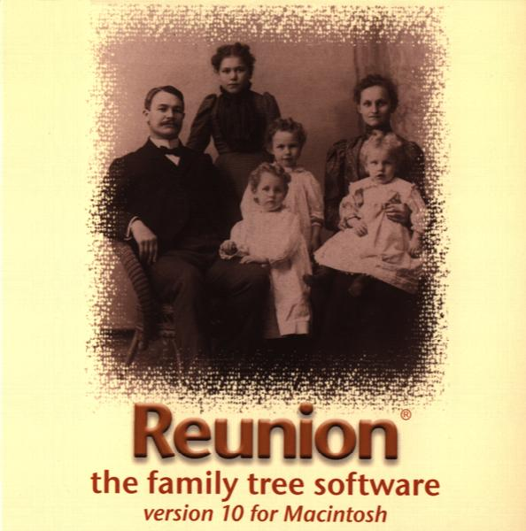 More info about Reunion 10 for the Mac + Free Find Your Ancestors book