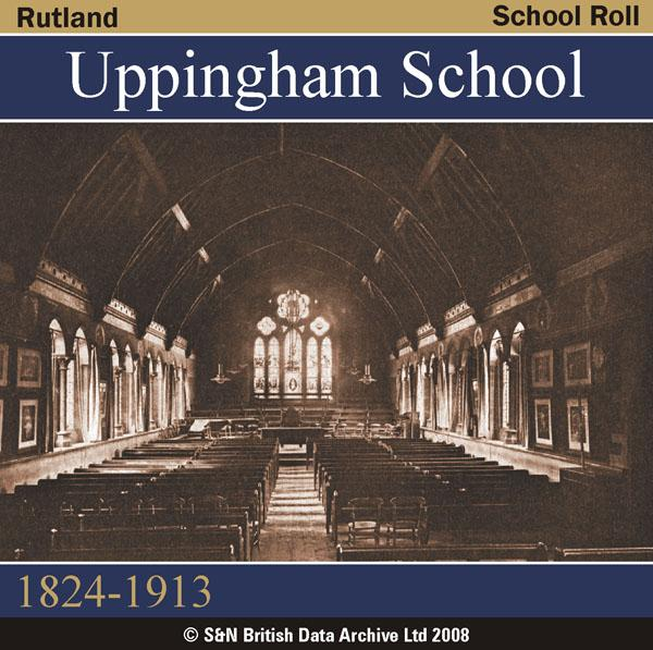 More info about Rutland, Uppingham School Roll 1824-1913