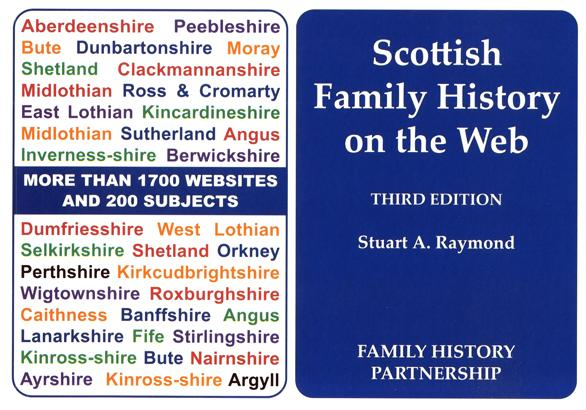 Scottish Family History on the Web 3rd Edition - Free Postage