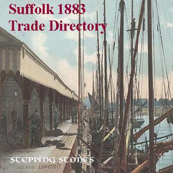 More info about Suffolk 1883 Trade Directory - Free Postage