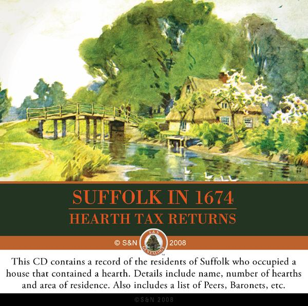 More info about Suffolk in 1674 - Hearth Tax Returns