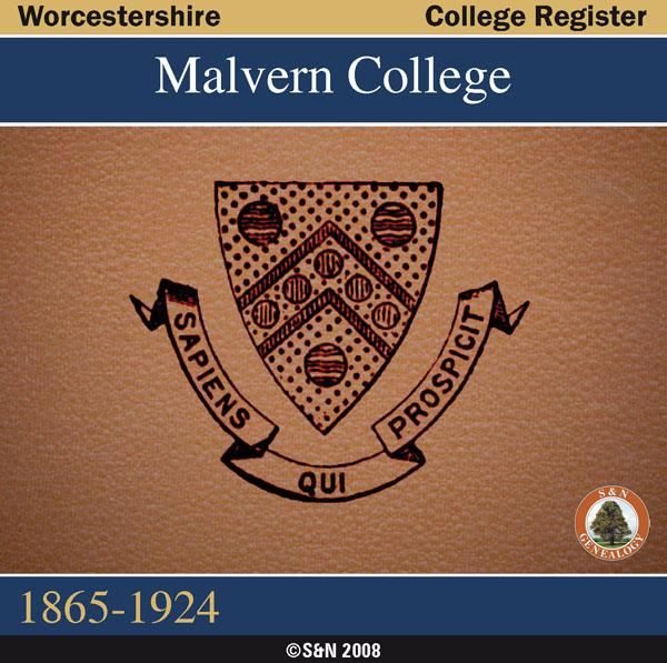 More info about Worcestershire, Malvern College Register 1865-1924