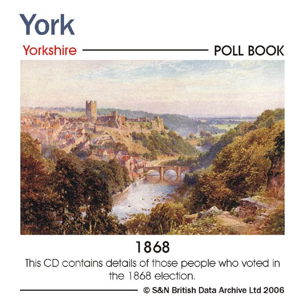 York, 1868 Poll Book