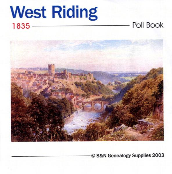 Yorkshire, West Riding Poll Book 1835