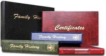 Family History Binders are great for presenting your family history