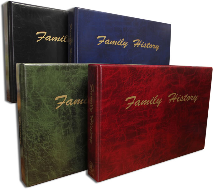 A3 Family History Binders