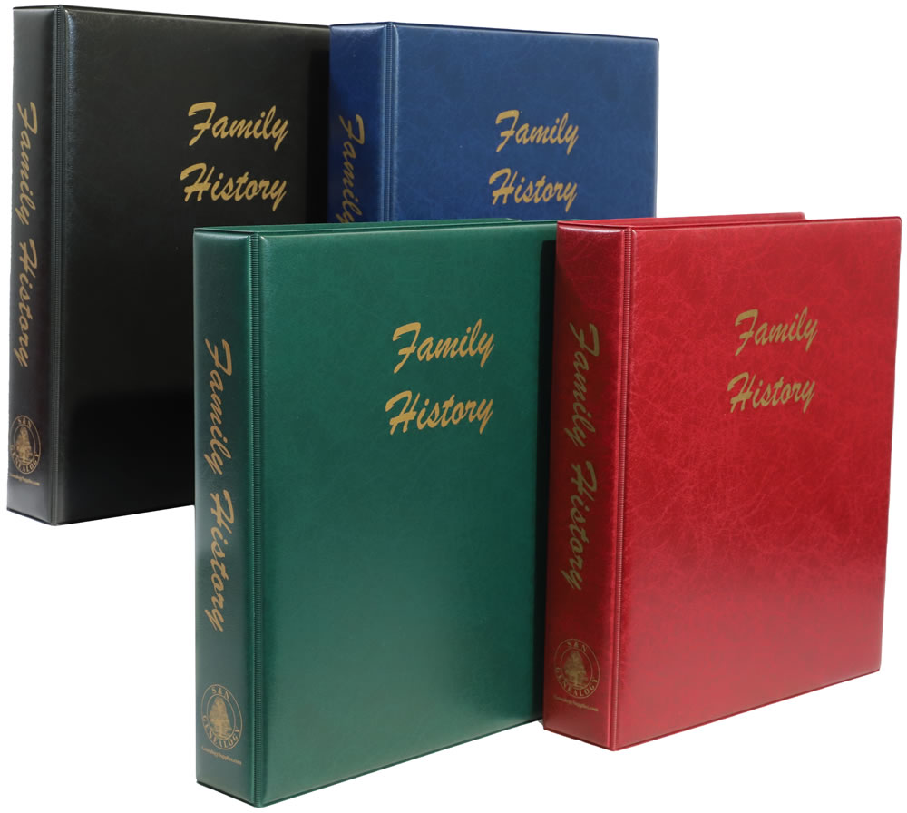 A4 Family History Binders