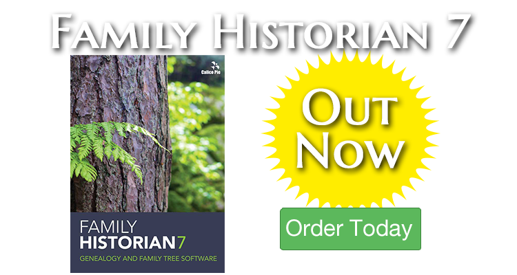 Family Historian 7 Out Now