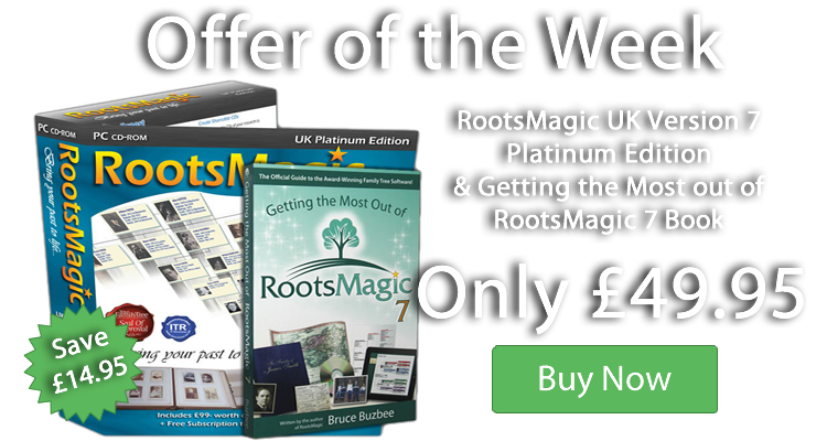 Save £49 with our RootsMagic & Book Bundle - only £49.95!