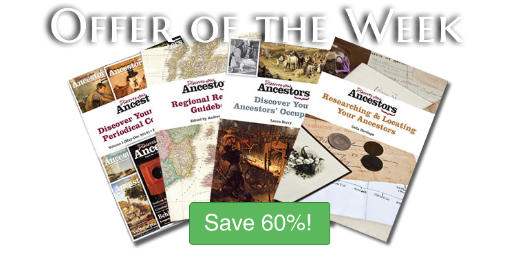 Save 60% on Discover Your Ancestors Books!